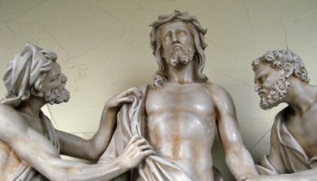tenth station of the cross