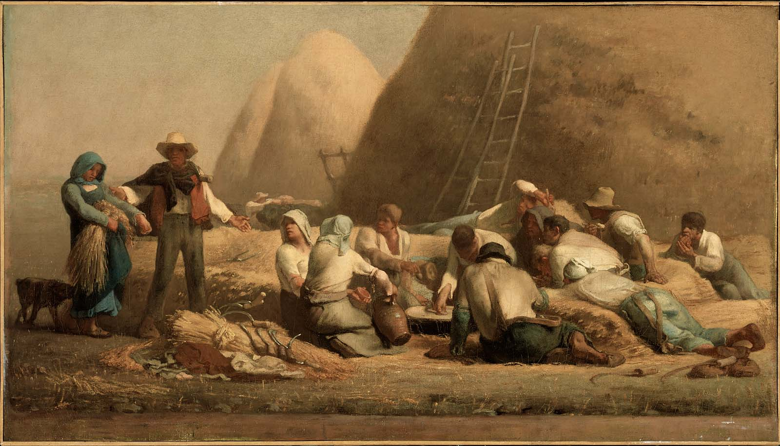 Harvesters Resting in the Field (Ruth and Boaz)